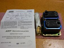 AMP CONNECTOR WITH CONTACTS PART # 206571-1  NSN: 5935-01-110-2731