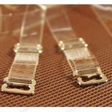 Clear invisible transparent bra strap Lady underwear shoulder belt Steel buckle