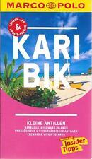 Karibik Kleine Antillen Marco Polo Reiseführer & Extra-Faltkarte TOP!