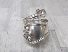 Vintage Tiffany & Co. Sterling Silver Handmade Spoon Ring ~ 27.4grams ~ 2-F5032