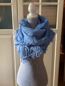Tuch Schal von Boss Boss Orange strahlend blau