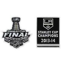 2014 NHL Stanley Cup Final Champions Los Angeles Kings Banner Jersey Patch Combo