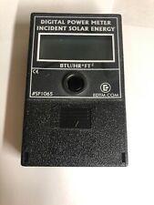 EDTM SOLAR power Meter