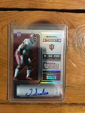 2018 Panini Contenders Draft Picks Bowl 86/98 College Ticket Tegray Scales Auto