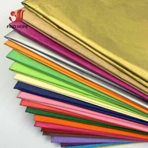 10 WHOLESALE SHEET ACID FREE TISSUE PAPER 50*35/75CM WRAPPING PAPER XMAS GIFT UK
