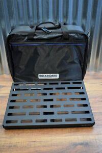 Warwick Rockboard Quad 4.1 B Guitar Effect Pedalboard & Gig Bag