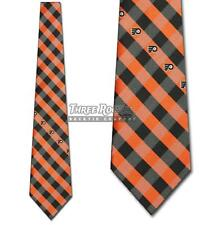 Philadelphia Flyers Tie Flyers Neckties Mens Licensed Hockey Neck Ties NWT