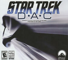 STAR TREK D.A.C DAC - Arcade Style Space Shooter PC Game - Windows & MAC - NEW