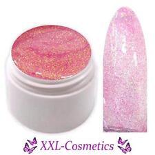 UV Farbgel Glitter Effekt Gel Made in Germany 5ml Pink GGF-5