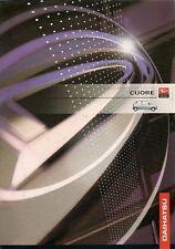 Daihatsu Cuore 1999-2001 UK Market Foldout Sales Brochure 1.0 3-dr 5-dr