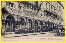 cpa 33 BORDEAUX Restaurant Brasserie du COQ d' OR 12 Rue MONTESQUIEU Automobile