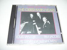 Louis van Dijk Pim Jacobs Pieter van Vollenhoven - The Gershwin Years RARE CD 89