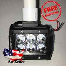 "Flounder Gigging Light 1"" PVC Head LED 18 Watts 1800 Lumens 12 Volt (Fishing)"