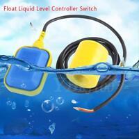 Float Switch Liquid Fluid Water Level Controller Contactor Sensor 220V 1.9M/3.7M