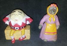 Humpty Dumpty & Wolf As Grandmother Fairy Tale Story Funrise 1988 Figurine Toys