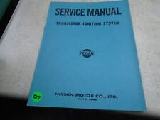 Datsun Transistor Ignition System Nissan Used Manual VP 70s  VP-CM327