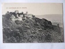 Ansichtskarte Die Kropsburg bei St. Martin 1914