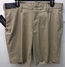 Polo Ralph Lauren Size 30 Stretch Classic Fit Khaki New Mens Shorts