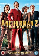 Anchorman-2 The Legend Continues (2013) Will Ferrell,  Adam NEW SEALED UK R2 DVD