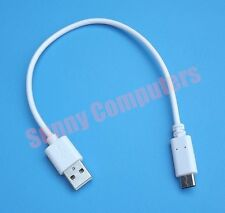 USB 3.1 Type-C to 2.0 Power Charge Data Cable For Sony Xperia XZ Premium 24cm AU