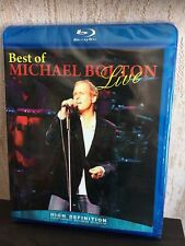 Michael Bolton Best Of Live Blu-Ray Disc