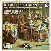 Telemann: Wind Concertos., Music