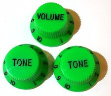 Guitar knobs tone / volume Choice of Colour Strat / Stratocaster replacment