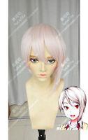 Shokugeki no Soma Nakiri Alice Short Light Pink Straight Cosplay Wig Hair