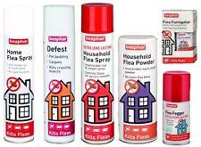 Beaphar Flea Spray Flea Powder Flea Fumigator Defest House Flea Treatments