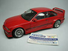1/18 UT Models BMW M3 E36 GTR red 20483 cochesaescala minichamps discontinued