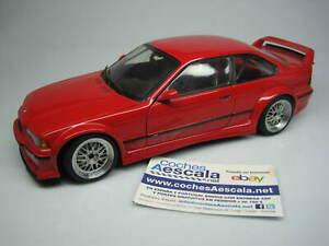 1/18 UT Models BMW M3 E36 GTR red 20483 cochesaescala minichamps discontinued