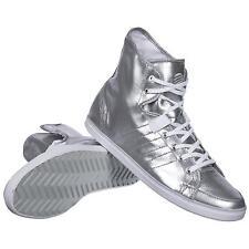 ADIDAS Slvr Core Mid sneakers 43 1/3 silver uomo donna scarpe argento ~ all star