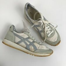 1980s Asics Tigers Shoes / Og Nylon Lace up Running Shoes Sneakers / Women's 7