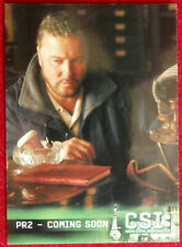 CSI - Las Vegas - Season Three - Promo Card PR2 - Strictly Ink 2005