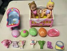 Fisher Price Snap N Style Lot of Dolls Clothing & Accessories