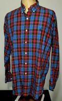 Polo Ralph Lauren Mens Button Up BLAKE Shirt Large Multicolored Plaid