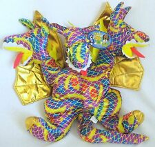 Large 3 Headed Winged Dragon Plush Stuffed Animal