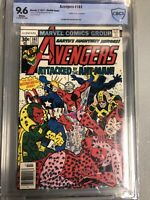 AVENGERS #161 CBCS 9.6 1977 Rare Double Cover NOT CGC ANT-MAN, ULTRON APPEARANCE