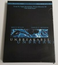 Unbreakable With Special Features Dvd Bruce Willis-Samuel L Jackson Used