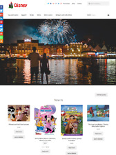 Disney Drop Shipping Website Business For Sale Fully Stocked