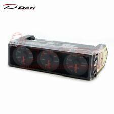 DEFI Din Gauge Triple Meter DF14403