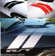Dodge Challenger R/T 2005 to 2017 Hood, Fender, HASH Stripes Universal Graphics