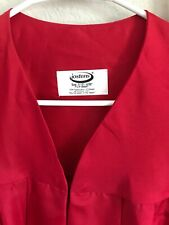 Graduation robe/gown , Jostens, Red, size 5'10'' = 6'00''