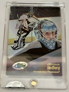 2001 eTopps Johan Hedberg In Hand Rare  Penguins Pristine Factory Sealed Card