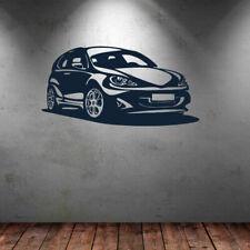 Wall Decal Car Wheel Headlight Trip Hatchback bedroom room M294