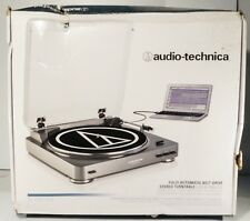 New Audio Technica Fully Automatic Belt-Drive Stereo Turntable AT-LP60BK-USB