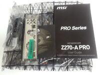 MSI Z270-A PRO , LGA 1151, Intel Z270, USB 3.1, Display Port, DVI, ATX