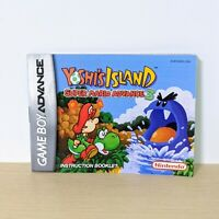 Yoshi's Island Super Mario Advance 3 GBA Game Boy Advance Instruction Booklet