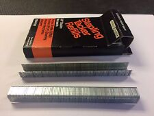 """Stanley Bostitch SBA-706  3/8"""" Staples, Box Of 1000, NOS, Fits T-50 & Others"""