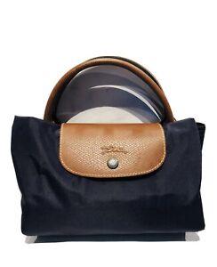 Longchamp Le Pliage Extensible Expandable Large Purple Nylon Travel Tote Bag